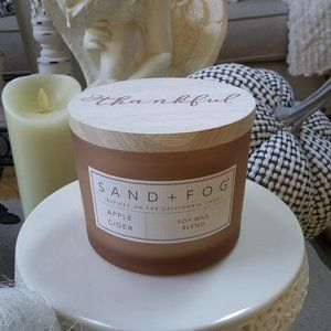 """NEW! """"Apple Cider"""" 2 WICK LARGE Candle"""